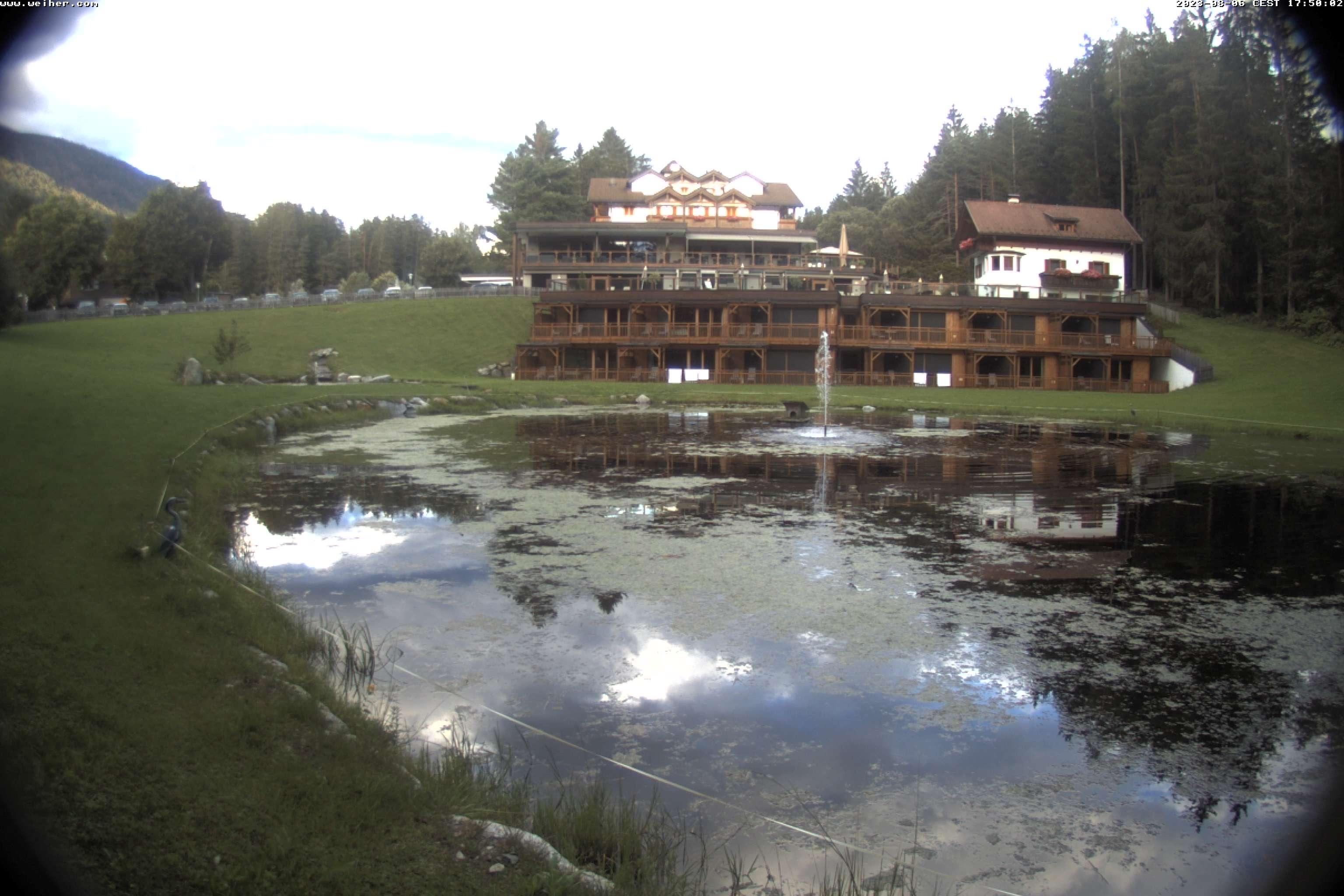 Unser Green Lake Hotel Weiher